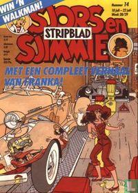 Sjors en Sjimmie stripblad 14