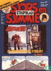 Sjors en Sjimmie stripblad 17