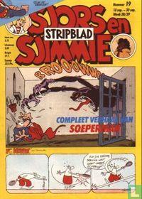 Sjors en Sjimmie stripblad 19