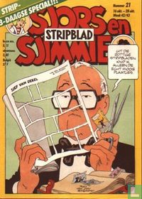 Sjors en Sjimmie stripblad 21
