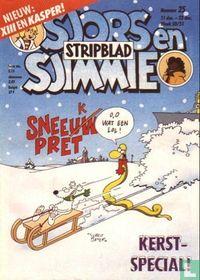 Sjors en Sjimmie stripblad 25