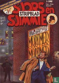 Sjors en Sjimmie stripblad 1