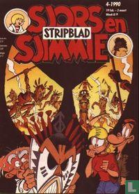 Sjors en Sjimmie stripblad 4