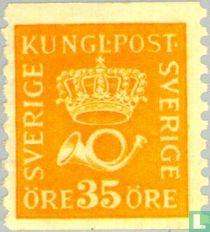 Kroon en posthoorn Type I
