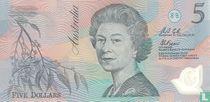 Australië 5 Dollars ND (1992)