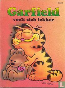 Garfield voelt zich lekker