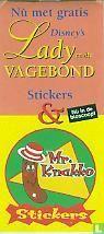 Nu met gratis Lady en de Vagebond stickers & Mr. Knakko stickers