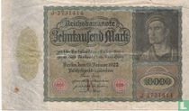 Duitsland 10.000  Mark (#70)