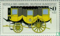 Postzegeltentoonstelling MOPHILA '85 Hamburg