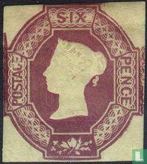 Koningin Victoria- 'Embossed'