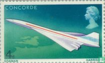 First flight of the Concorde