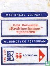 "Café Restaurant ""Krabbenbossen"""