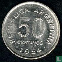 Argentinië 50 centavos 1954