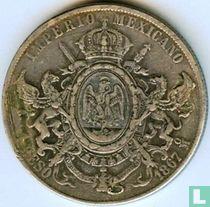 Mexico 1 peso 1867