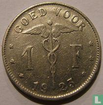 België 1 franc 1923 (NLD)