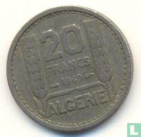 Algeria 20 francs 1949