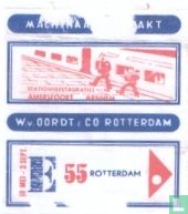 Stationsrestauraties Amersfoort Arnhem