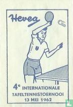 Hevea 4e Internationale Tafeltennistoernooi