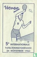 Hevea 5e Internationale Tafeltennistoernooi