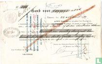 Wisselbrief, Batavia, Eerste wisselbrief 1877