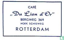 """Café """"Du Lion d'Or"""""""