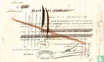 Wisselbrief Batavia, Eerste wisselbrief 1869