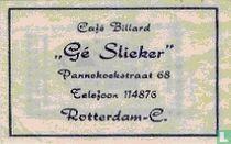 "Café Billard ""Gé Slieker"""
