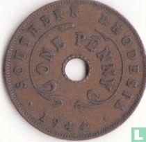 Zuid-Rhodesië 1 penny 1944