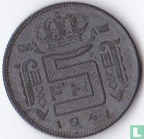 België 5 francs 1941 (FRA)
