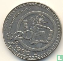 Mexico 20 pesos 1980