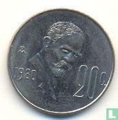 Mexico 20 centavos 1980