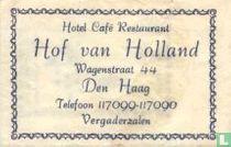 Hotel Café Restaurant Hof van Holland