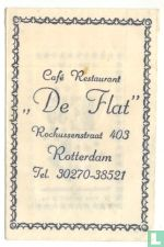 "Café Restaurant ""De Flat"""