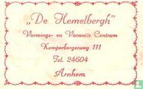 """""""De Hemelbergh"""" Vormings en Vacantie Centrum"""
