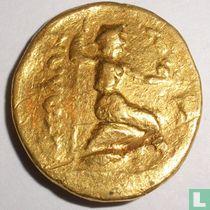 Ancient Greece Aetolian Bond Golden Stater 279-168 BC.