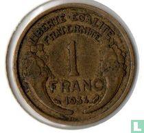 Frankrijk 1 franc 1934