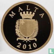 """Malta 50 euro 2010 (PROOF) """"Auberge d'Italie"""""""
