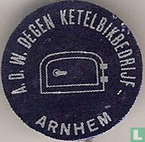 A.D.W. Degen ketelbikbedrijf Arnhem