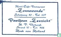 """Hotel Café Restaurant """"Zonnewende"""""""