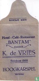 """Hotel Café Restaurant """"Bantam"""""""