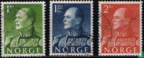 Le roi Olav V de Norvège