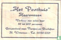 """""""Het Posthuis"""""""