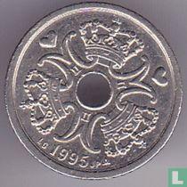 Denemarken 1 krone 1995