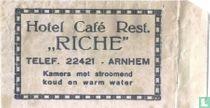 """Hotel Café Rest. """"Riche"""""""