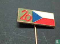 20 (vlag van Tsjecho-Slowakije)