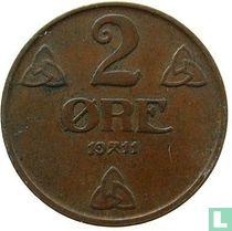 Noorwegen 2 Øre 1911
