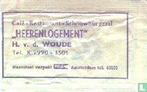 """Café Restaurant Schouwburgzaal """"Heerenlogement"""""""