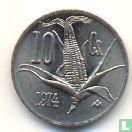 Mexico 10 centavos 1974