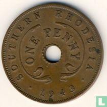Zuid-Rhodesië 1 penny 1943