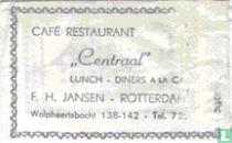 """Café Restaurant """"Centraal"""""""